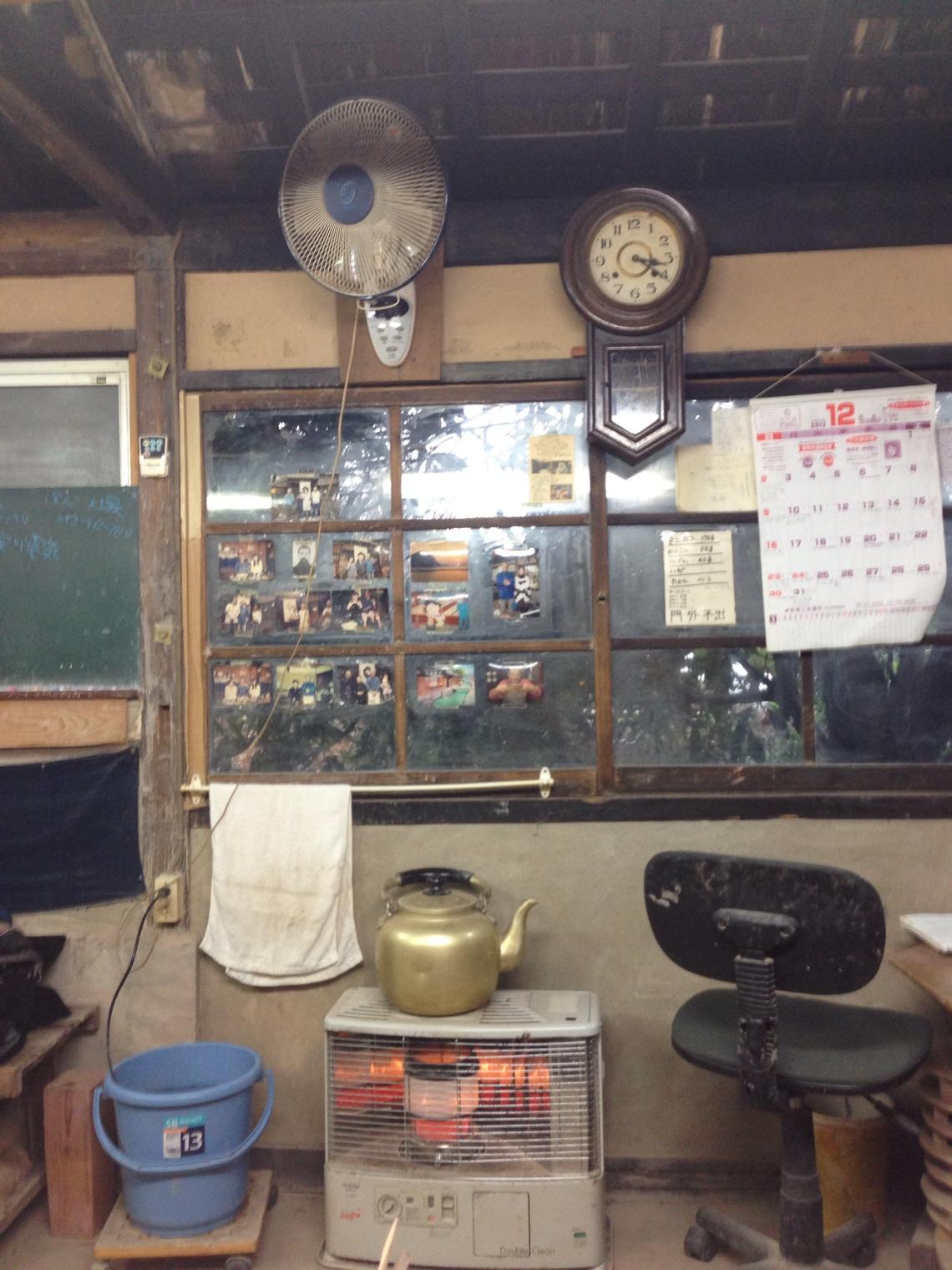山口県の萩で萩焼のラテボール製作をする