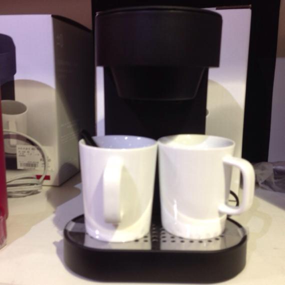 プラスマイナスゼロのコーヒーメイカーカッコいい!