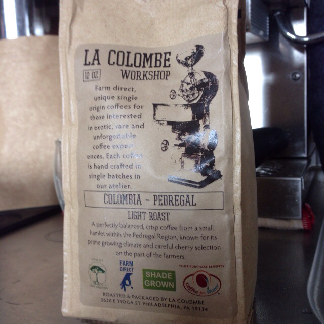 【ニューヨーク】LA COLOMBE COFFEE ROASTERSのコーヒー