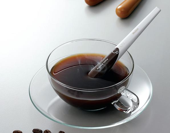 斬新なインスタントコーヒー!「Cappuccino Coffee Stick」