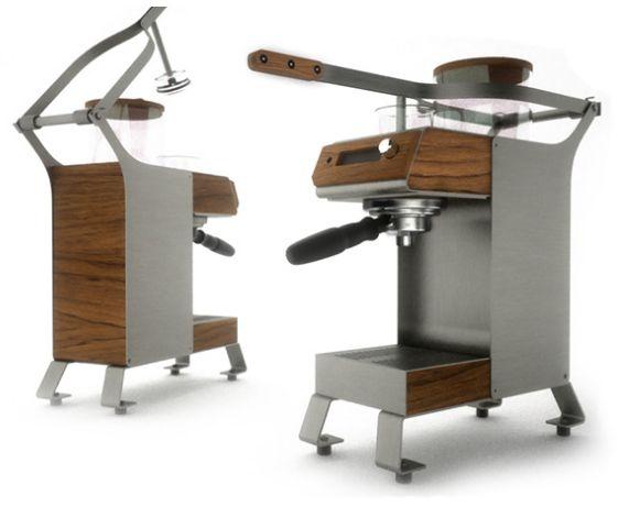 Blossom Coffeeとかいう、ハイテク感あふれるカッコいいマシン!たまらん。