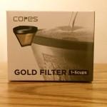 cores (コレス) ゴールドフィルター は初心者にもおすすめのフィルター!